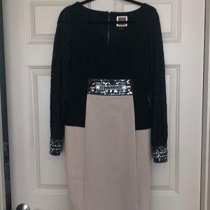 Size ten long sleeve cocktail dress